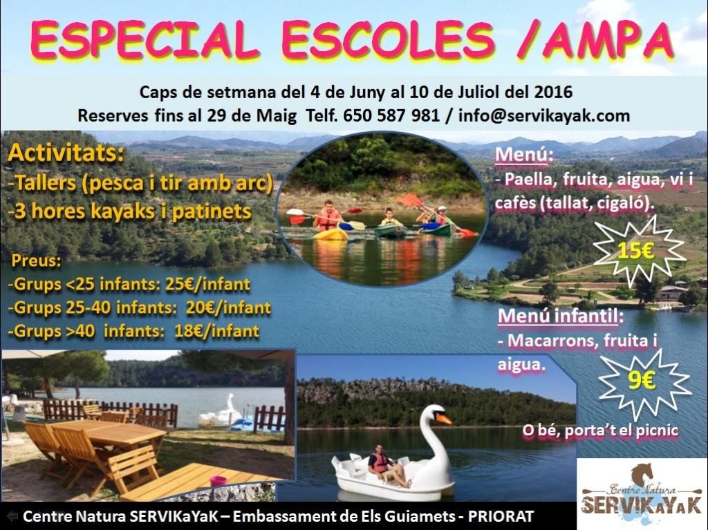 ESPECIAL  ESCOLES
